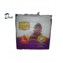 COUCHE BABY STAR 4-9Kg N°3