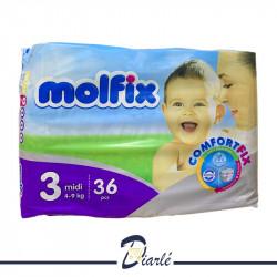 COUCHE MOLFIX 4-9Kg N°3