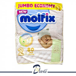 COUCHE MOLFIX JUMBO 3-6Kg N°2