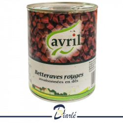 BETTERAVES ROUGES AVRIL 800g